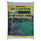 Rasendünger mit Unkrautvernichter+Langzeitwirkung Premium Beckmann im Garten FREI HAUS )