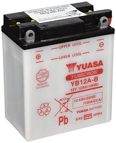 YUASA YB12A-B - BATTERIA per Moto
