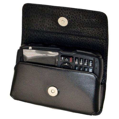 Original MTT Quertasche für / RugGear RG100 / Horizontal Tasche Ledertasche Handytasche Etui mit Gürtelschlaufe*
