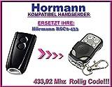 Hörmann RSC2-433 kompatibel handsender, 4-kanäle Ersatz fernbedienung 433,92Mhz