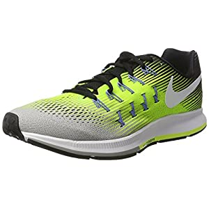 premium selection 85d1c 62e42 Nike Air Zoom Pegasus 33, Zapatillas de Running para Hombre, (Silber Matt