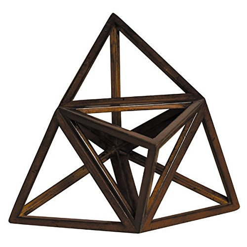 Authentic Models Elevated Tetrahedron Modell aus Holz Elementmodell