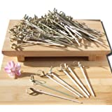 Gifts Of The Orient GOTO® - Cóctel Palillos De Bambú Estilo Japonés Espada 10 Cm X 100