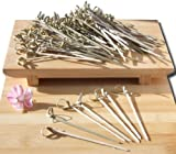 Cocktail sticks Japanese style bamboo sword 10cm X 100