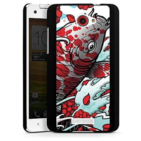 HTC Butterfly Housse Étui Protection Coque Carpe koi Mai Koi Art