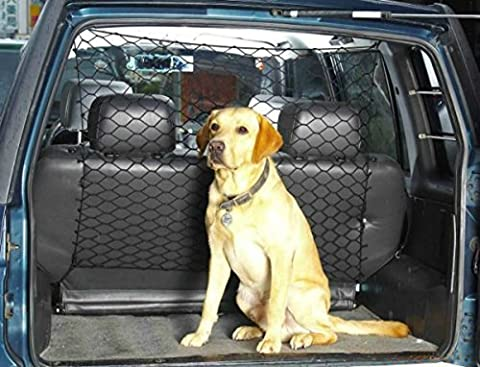 XtremeAuto® Car Safety Net for Dogs. Pet Travel Barrier for Rear of Vehicle.