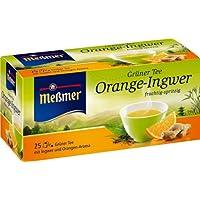 Meßmer Grüner Tee Orange-Ingwer 25 TB, 2er Pack (2 x 43,75 g Packung)