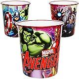 Unbekannt Papierkorb / Behälter - Avengers - 8,5 Liter - aus Kunststoff - Mülleimer Eimer / Spielzeugkorb / Popcornschüssel / auch als Blumentopf nutzbar - Aufbewahrung..