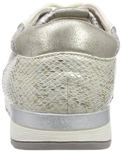 Jana 23601, Baskets Basses femme Argent - Silber (SILVER COMB 913)