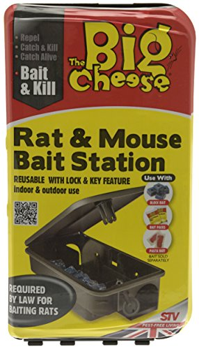 the-big-cheese-rat-and-mouse-bait-station-compact-durable-tamper-resistant-lockable-reusable-bait-st