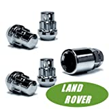 Butzi 12/x 1.25/cromato bulloni antifurto dadi ruota di bloccaggio e 2/chiavi adatta a Nissan Cube