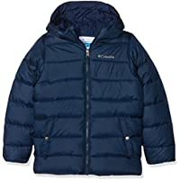 Columbia The Big Puff Chaqueta Aislante, Niños, Azul (Collegiate Navy), M