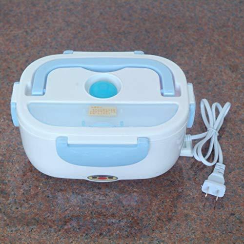Tragbare auto lkw elektrische heizung lunchbox lebensmittel warm heizung vorratsbehälter ofen herd kostwärmer für den autoeinsatz, blau -