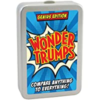 Cheatwell Games 12100 Wonder Trumps Card Game