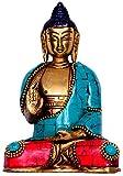 Purpledip Dieu Statue du Seigneur Bouddha en...