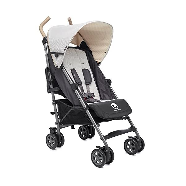 Easywalker Buggy Classic Breton  Suitable from birth 5 point 3 position harness Four recline positions with near flat recline 1
