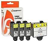 Bubprint 4 Druckerpatronen kompatibel für Samsung INK-M210 INK-M215 INK-C210 INK M210 M215 C210 für CJX-1000 CJX-1050W CJX-2000FW Black/Color