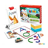 Image for board game Osmo - Little Genius Starter Kit for iPad - 4 Hands-On Learning Games - Preschool Ages - Problem Solving, & Creativity (Osmo iPad Base Included)