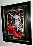 Rare Gareth Bale Signiert Fußballschuh mit AFTAL Dealer