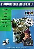 PPD Paquet de 100 feuilles de papier photo mat 2 faces format A3 210 g/m²