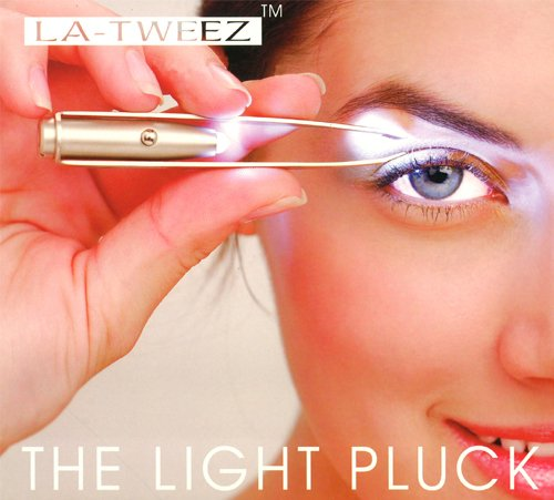 La-Tweez illuminating tweezers