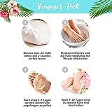 SUMMER FOOT Premium Fußmaske zur Entfernung v...Vergleich