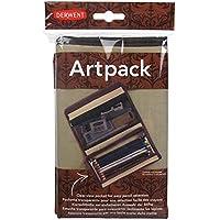 Derwent Artpack Canvas Pencil Case, Pencil and Accessory Storage Compartments