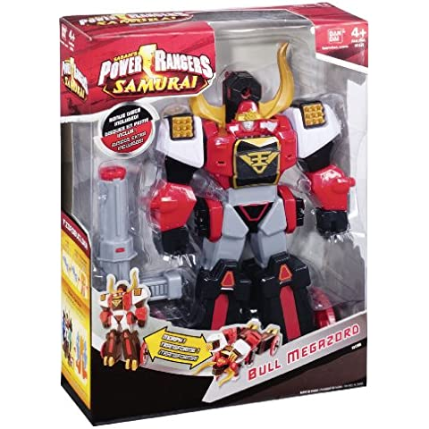 Bandai 31580 Power Rangers Samurai - Megazord toro
