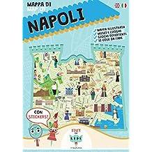 Mappa di Napoli. Con adesivi. Ediz. illustrata