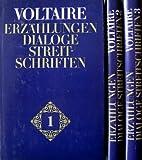 Erzählungen, Dialoge, Streitschriften. Drei Bände - Voltaire
