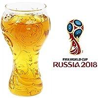 Vasos de Cerveza Grandes Vasos de Cerveza Originales Jarra de Cerveza Personalizada Para el Dia del Padre,Copa Mundial Fifa 2018 Bar Orgy Balones de Fútbol Champions Jarras de Cerveza Cristal Creativa Para Bares, Restaurantes, Fiestas.(Etiqueta engomada de la copa del mundo de regalo contiene 32 países)