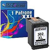 PlatinumSerie® 1x Patrone remanufactured für HP 302 XL Schwarz mit Füllstandsanzeige und 135% mehr Inhalt! Für Envy e-All-in-One 4520 4521 4522 4524 4525 4526 4527 4528