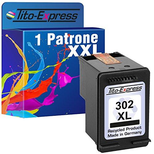 PlatinumSerie® 1x Druckerpatrone remanufactured für HP 302 XL Schwarz mit Füllstandsanzeige und 135% mehr Inhalt! Für HP Officejet 3800 Series 3830 3831 3833 3834 3835 -