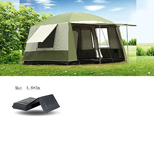 QFFL zhangpeng Zelt warm und Winddicht Regen Zelt 6-12 Personen aus dem Boden Zelt Angeln Zelt Zelt...
