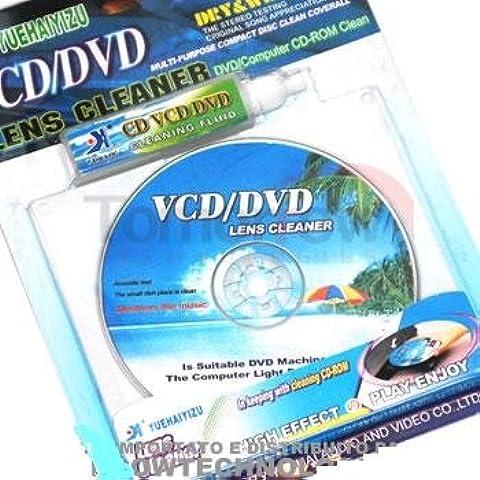 218782 PULITORE PER LETTORI DVD/CD/VCD PC CON