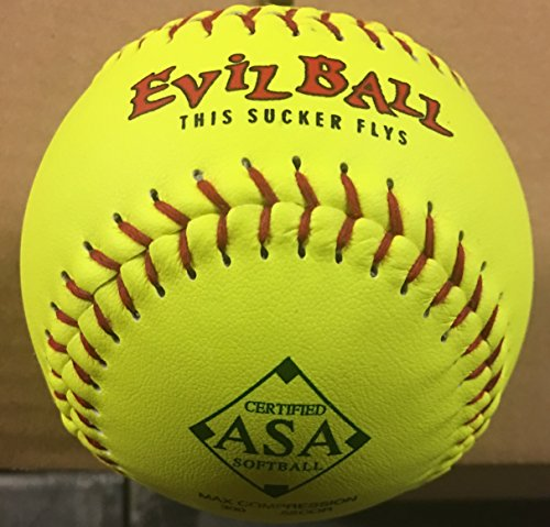 1Dutzend ASA Evil Ball 27,9cm Softbälle 52COR 300Kompression 12Kugeln (Evil asa-11-y-52)