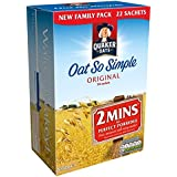 Avena Quaker tan simple Gachas original de 22 x 27 g