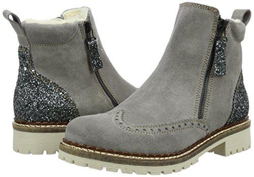 Billig Tamaris Damen Stiefel, 26490 Chelsea Stiefel, Damen Grau (Grau Plat.Glam 286 ... 731e3e