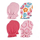 Best Luvable Friends Baby Gifts For Boys - Luvable Friends 4 Pack Baby Scratch Mittens Review
