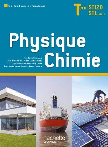 Physique Chimie Term. STI2D/STL (option SCL) - Livre élève - Ed. 2012 by Paul Bramand (2012-05-09)