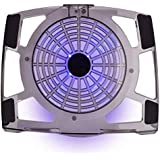 Brand Conquer NB-480 Notebook Cooler Pad With 120mm Blue LED Fan - Supports 14 Inch+