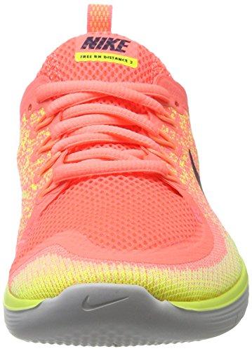 Nike Free Rn Distance 2, Scarpe Running Donna Arancione (lava Glow / Dark Raisin Barely Volt Yellow)