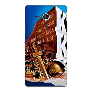 Delighted King Power Back Case Cover for Sony Xperia SP