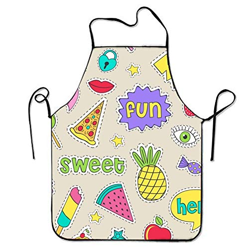 HTETRERW Lederhosen Apron Hai Hark Apron for Baking Crafting Gardening Cooking Durable Easy Cleaning Creative Bib for Man and Woman Standar (Hund Hai Kostüm Amazon)