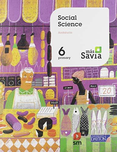 Social Science 6 Primary Más Savia Andalucía