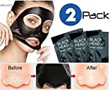 #2: Pilaten black head acne white head remover charcoal cream mask strips (2 Pack)