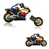 Shooo 8GB Strong Cartoon Motorrad USB-Stick Speicherstick