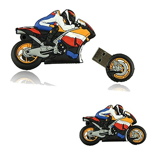 Shooo 16gb cartoon moto novelty chiavetta usb pendrive