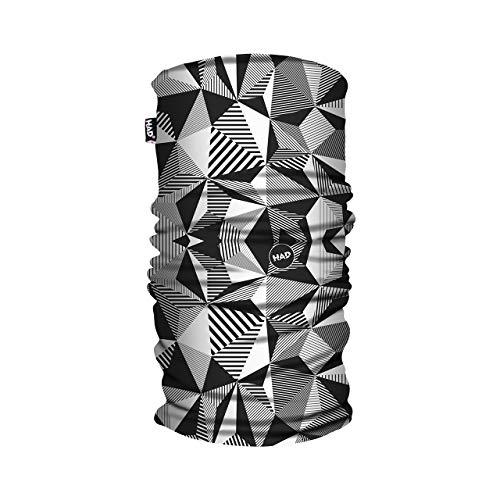 Had Fleece Tube Heliotrop Schals gedruckt-Schwarz, Eine Größe