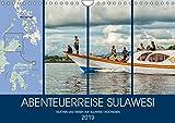 ABENTEUERREISE SULAWESI (Wandkalender 2019 DIN A4 quer): Eine Abenteuer- und Tauchreise auf der Indonesischen Insel Sulawesi (Monatskalender, 14 Seiten ) (CALVENDO Orte)